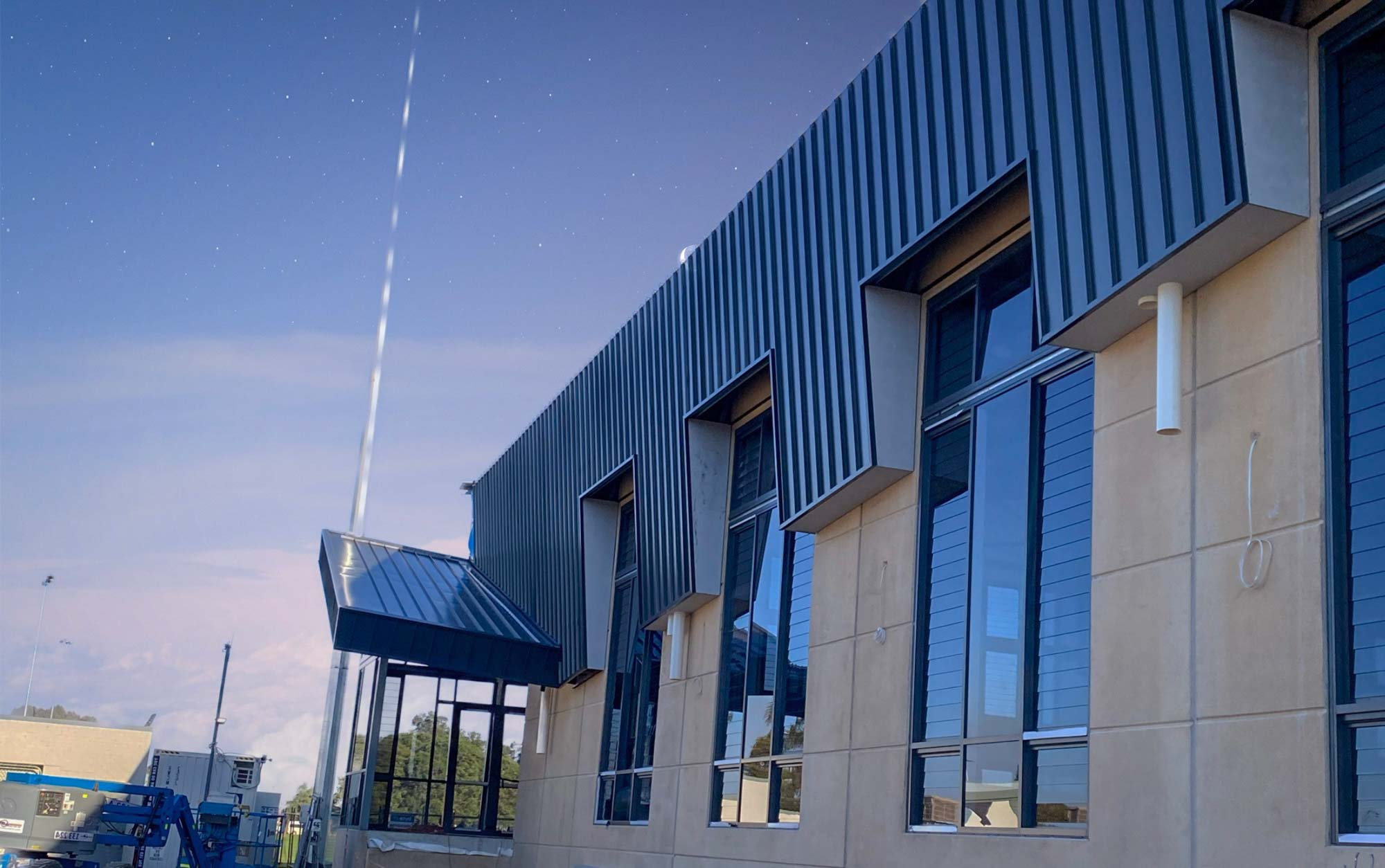 Morley Recreation Centre Exterior - Construction Project