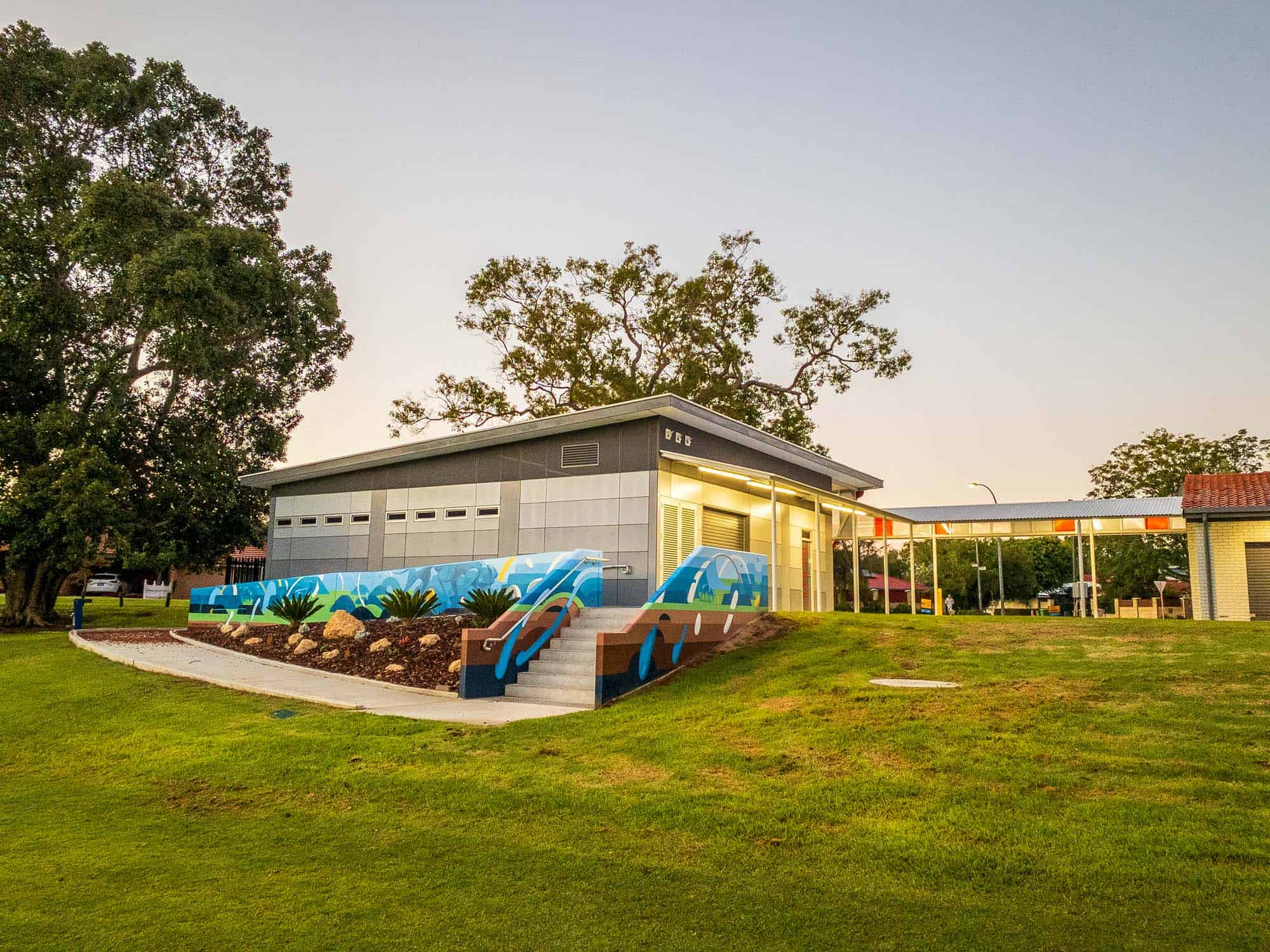 Webber Reserve Club Rooms - Construction Project
